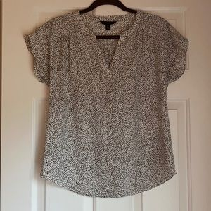 Banana republic cap sleeve blouse